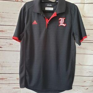 Adidas University of Louisville Cardinals polo